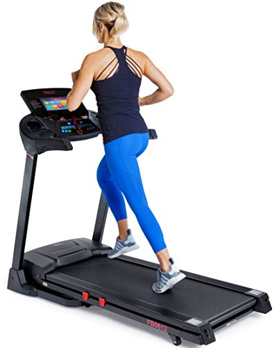 fitbill-FB0612-Smart-Treadmill-w-10-Touch-TFT-Screen-Smart-Scale-WIFI-and-App