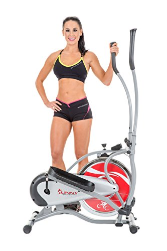 Sunny-Health-Fitness-SF-E1405-Flywheel-Elliptical-Trainer-Gray